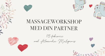 Massageworkshop med din partner
